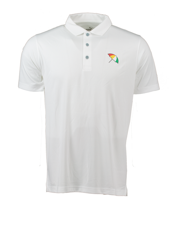 White 'UMBRELLA' Golf Polo Shirt - Arnold Palmer X PUMA / MEN