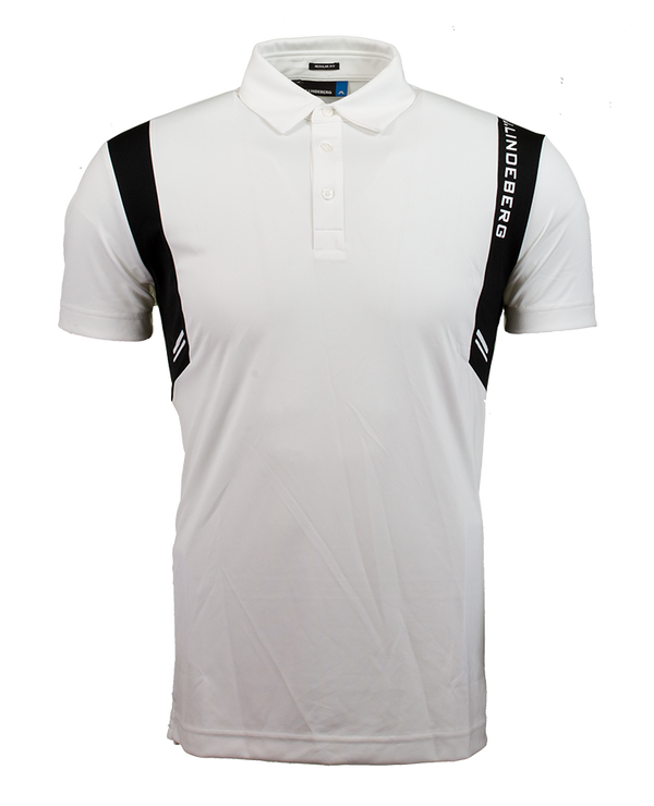 White 'Aaron' Golf Polo - MEN / AW19