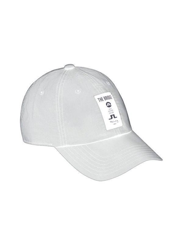 White Carl Poly Golf Cap  - Men's / SS19