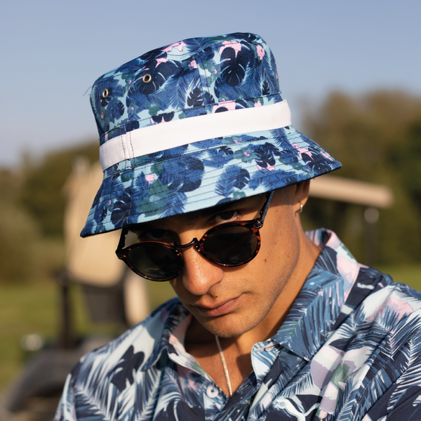 NAVY 'Spring Break'  Williams Bucket Hat - Limited Edition HONDA / MEN
