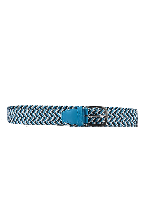 Ocean Blue 'Bubba' Braided Elastic Belt - MEN / 2021