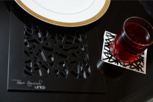 Branchlet Coaster - linesbyrobayoussef - Interior and Graphic Design, Architecture Lebanon