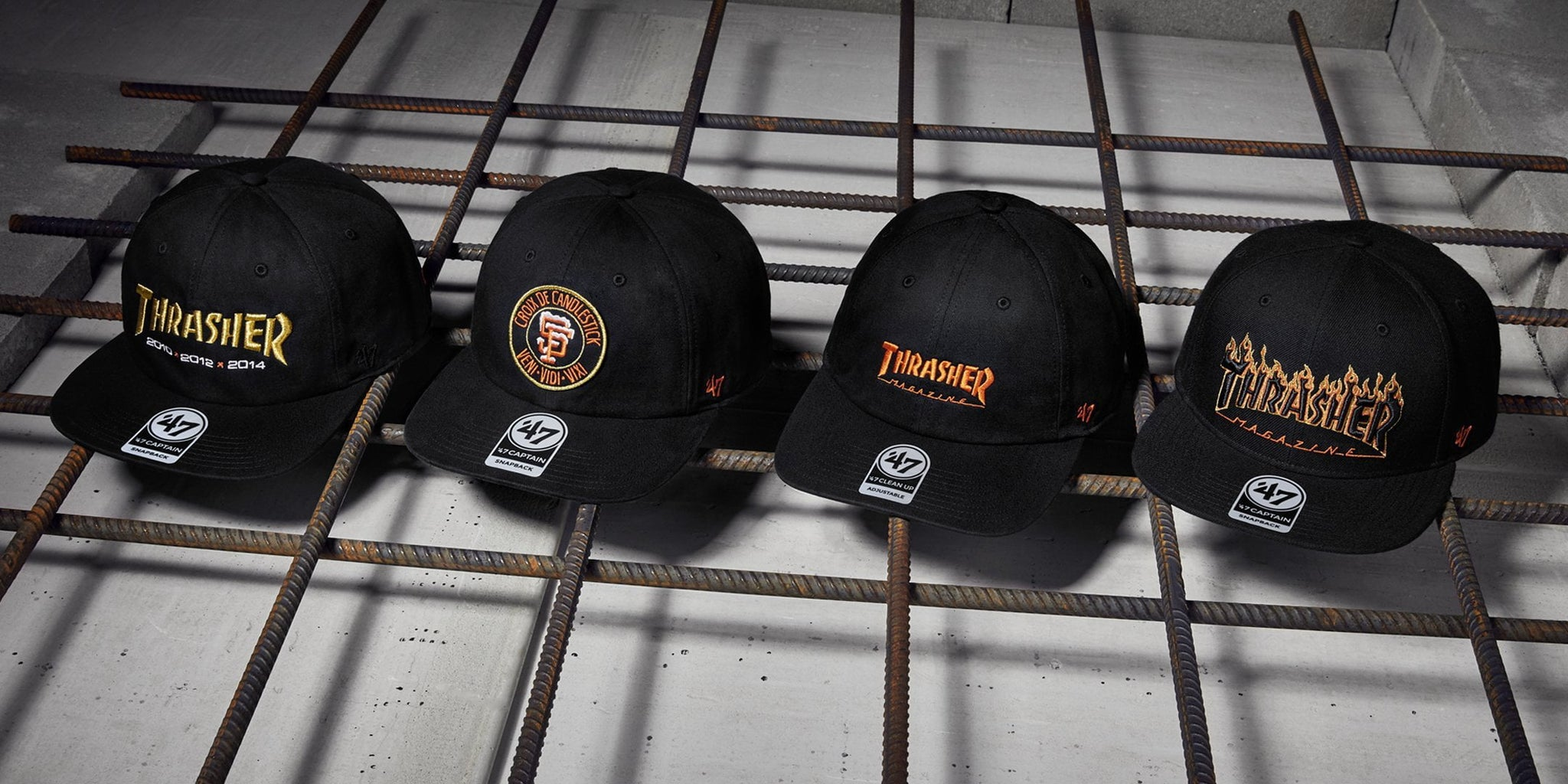 Dropping In: Thrasher x '47