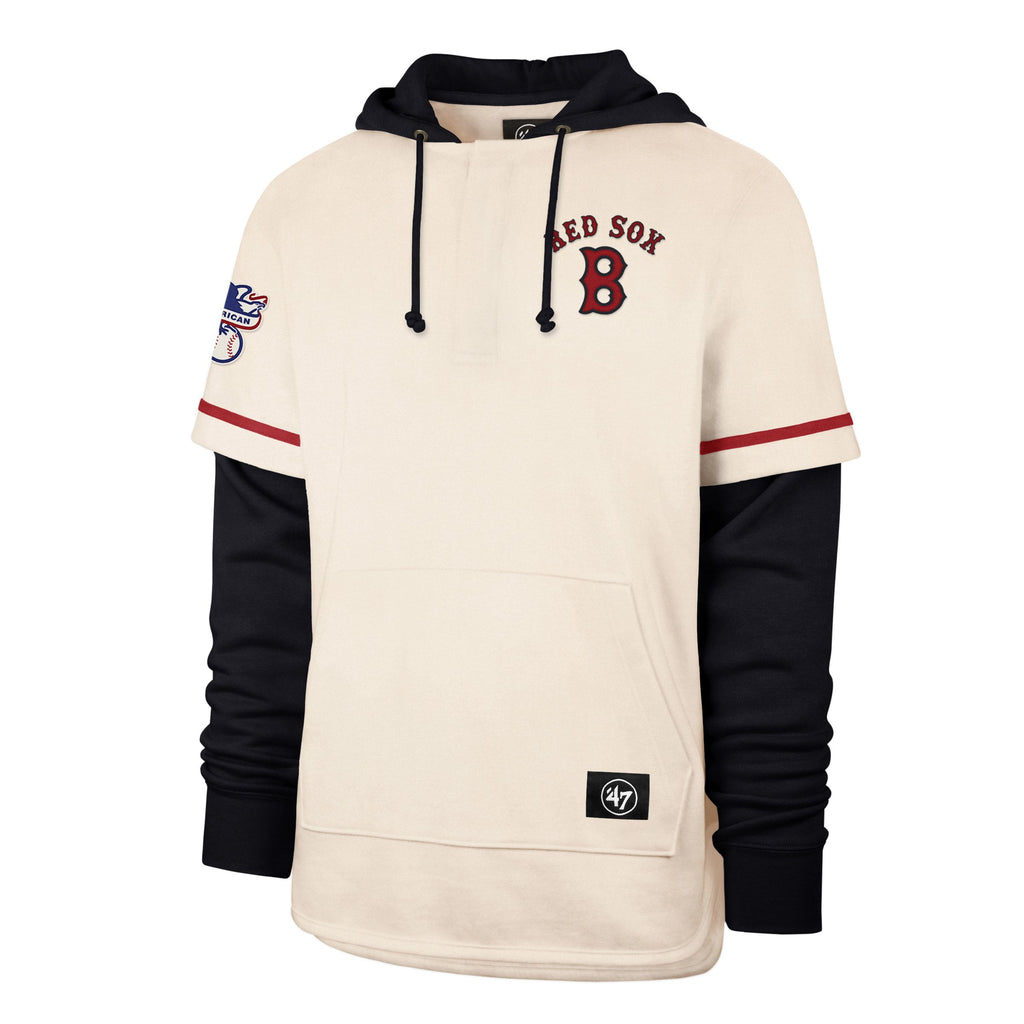 BOSTON RED SOX COOPERSTOWN HERITAGE '47 SHORTSTOP PULLOVER