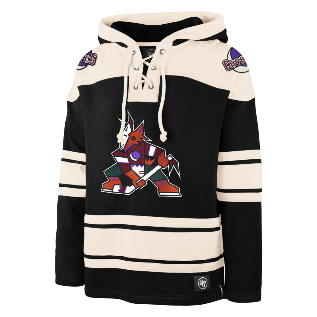 ARIZONA COYOTES '47 SUPERIOR LACER HOOD