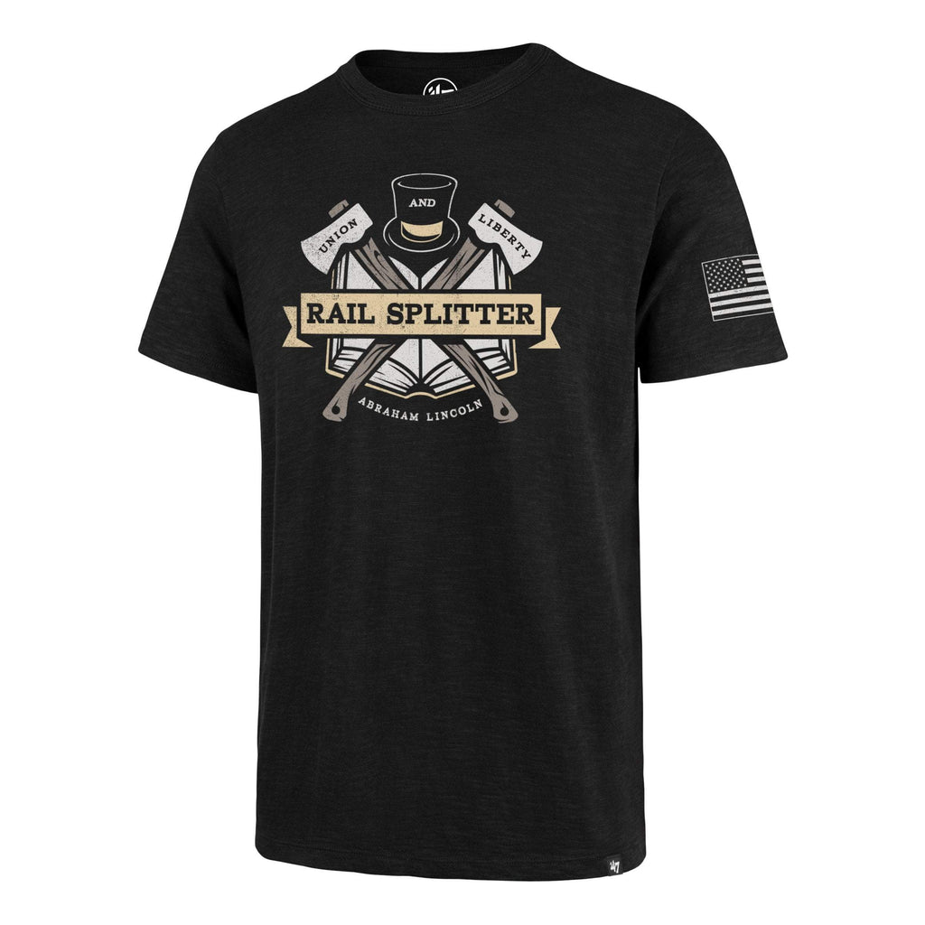 Americana RAIL SPLITTER TWO PEAT '47 SCRUM TEE