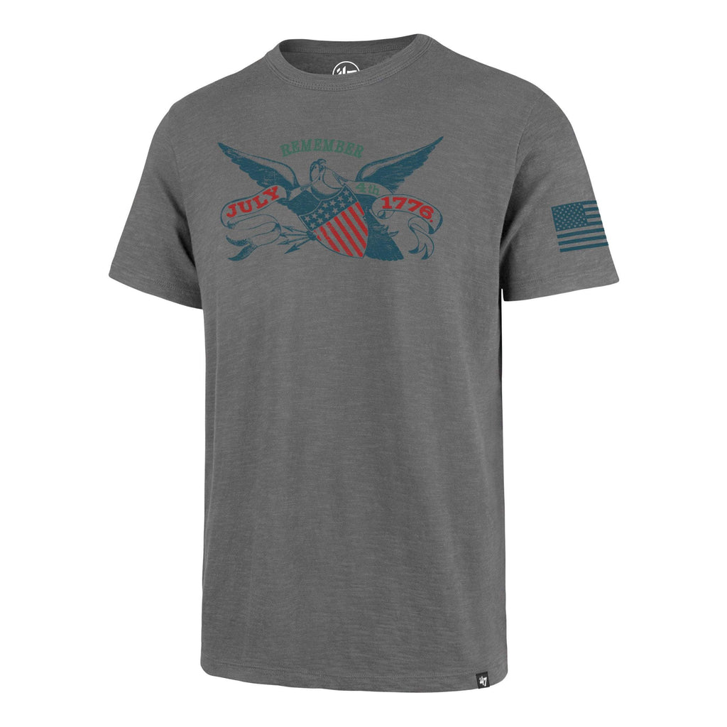 Americana 4TH OF JULY TWO PEAT '47 SCRUM TEE