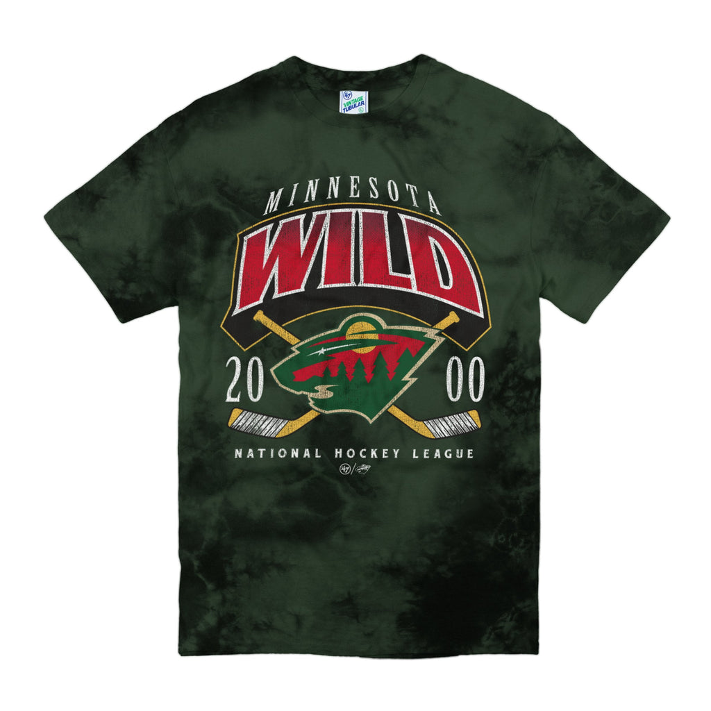 MINNESOTA WILD POWER PLAY '47 VINTAGE TUBULAR TEE