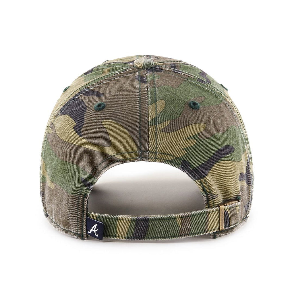 ATLANTA BRAVES CAMO '47 CLEAN UP