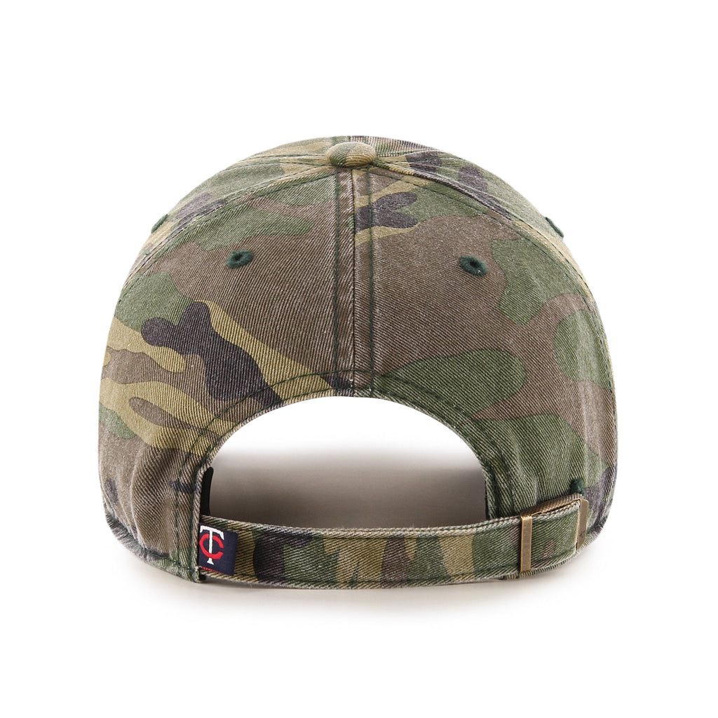 MINNESOTA TWINS CAMO '47 CLEAN UP