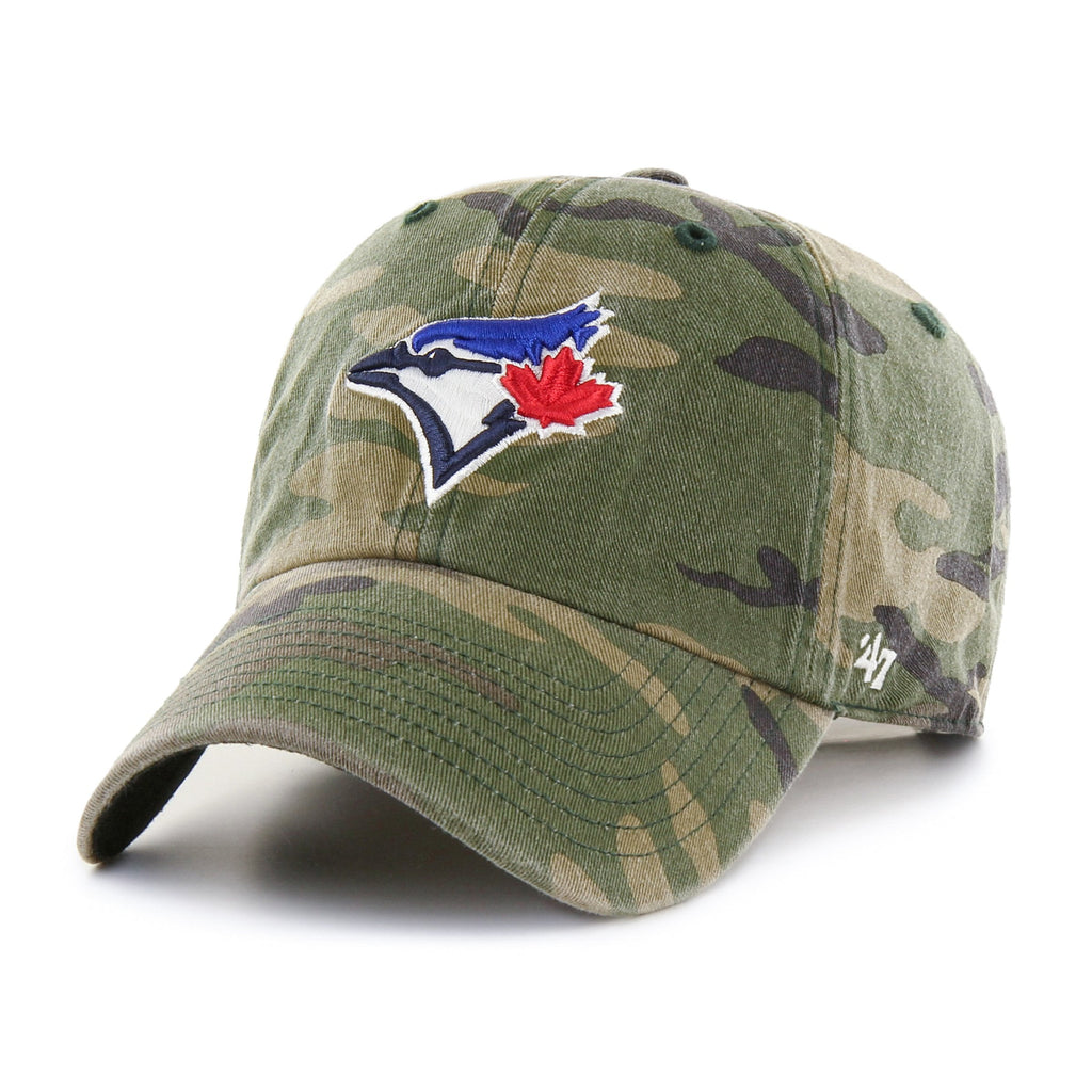 TORONTO BLUE JAYS CAMO '47 CLEAN UP