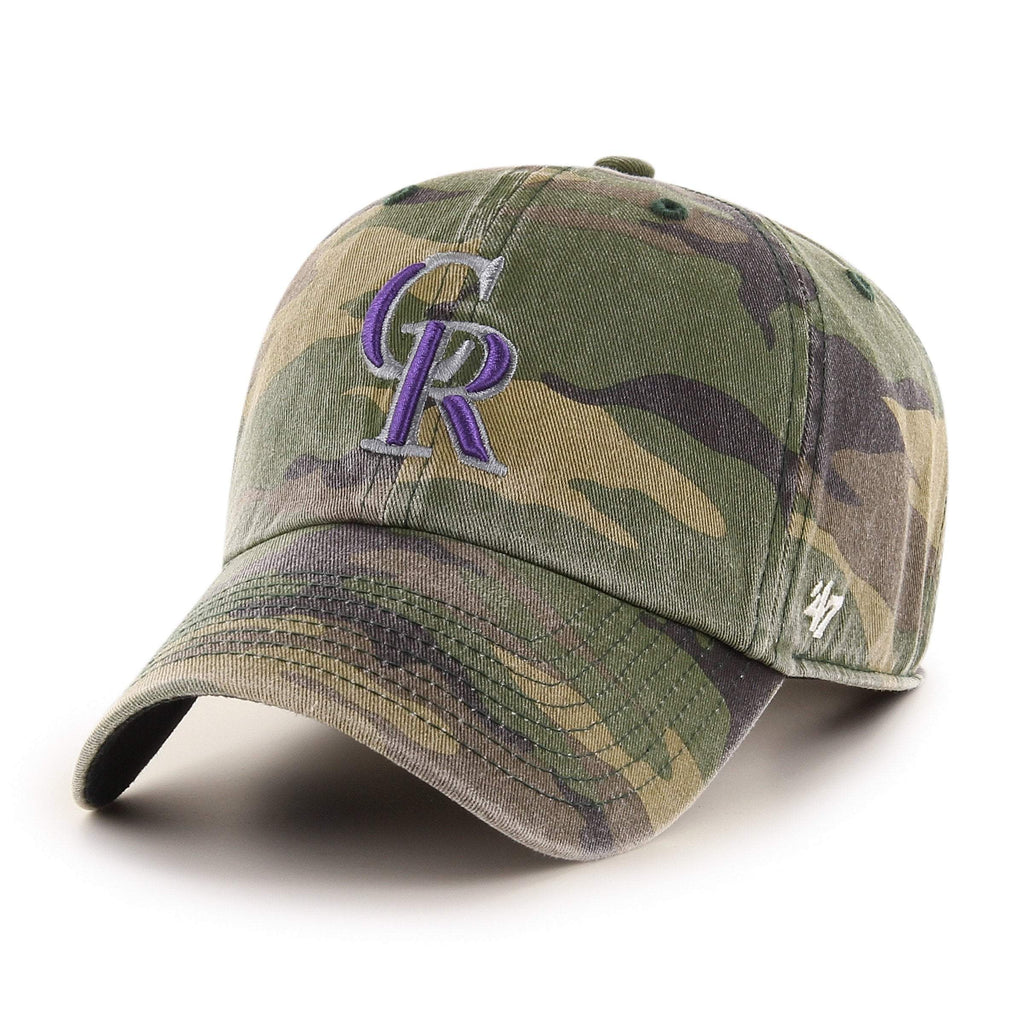 COLORADO ROCKIES CAMO '47 CLEAN UP