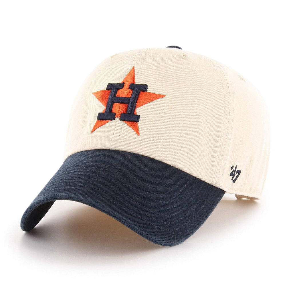 HOUSTON ASTROS COOPERSTOWN TWO TONE '47 CLEAN UP