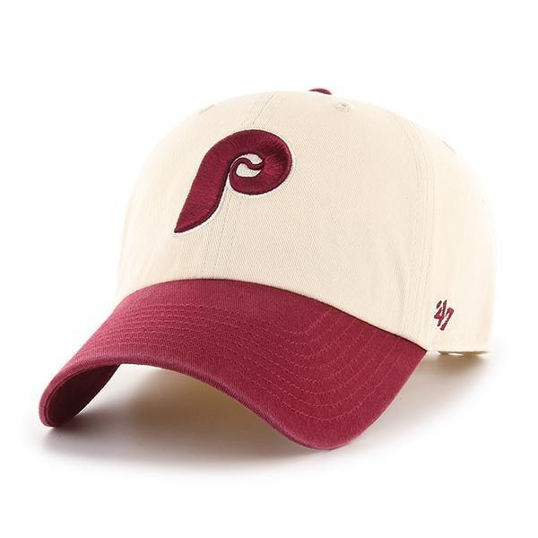 PHILADELPHIA PHILLIES COOPERSTOWN TWO TONE '47 CLEAN UP