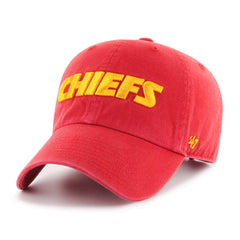 KANSAS CITY CHIEFS SCRIPT '47 CLEAN UP