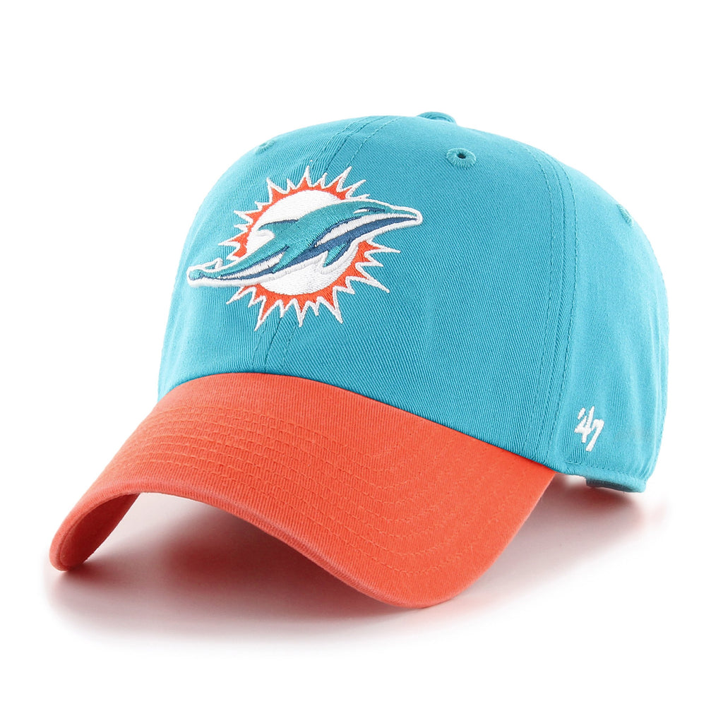 MIAMI DOLPHINS TWO TONE '47 CLEAN UP