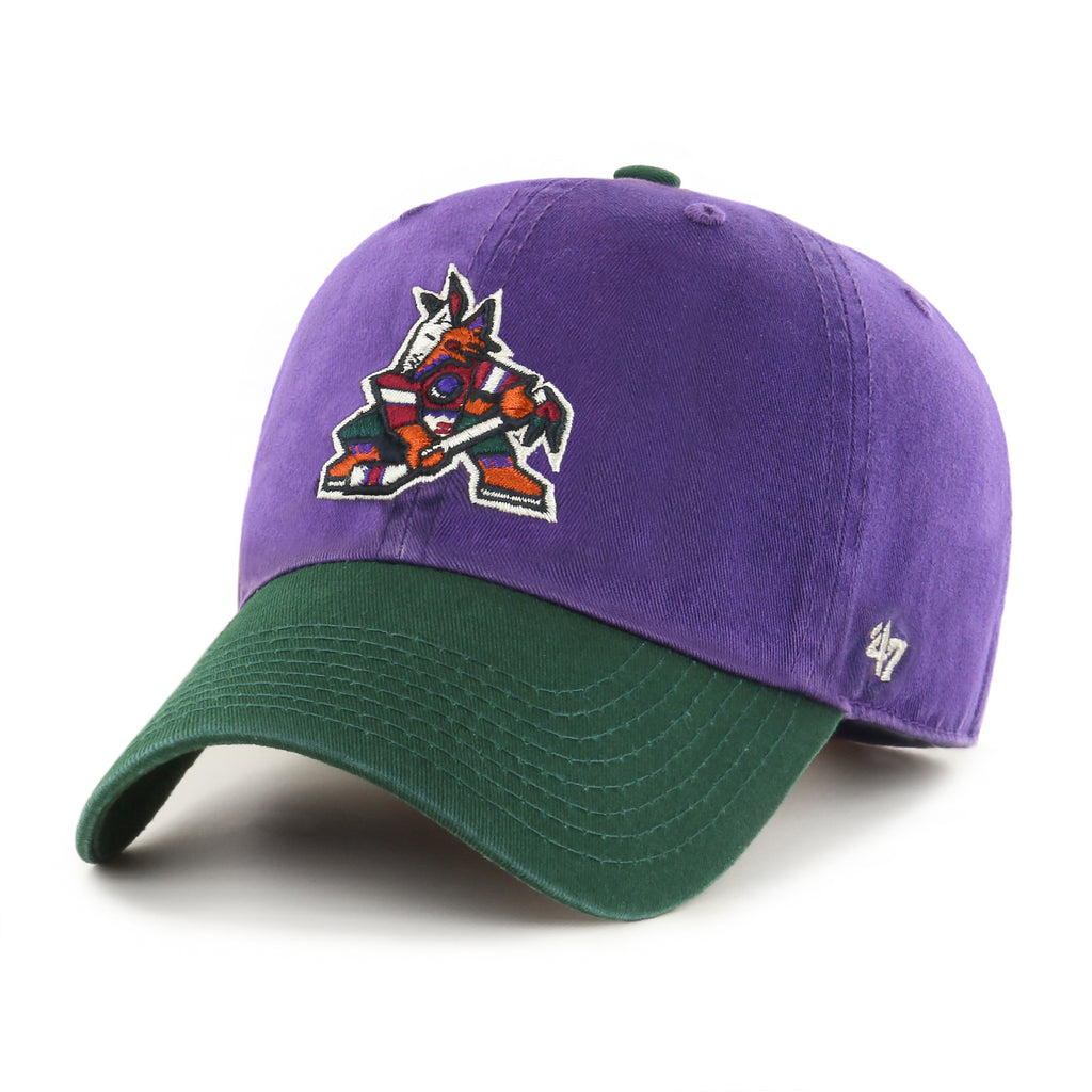 ARIZONA COYOTES TWO TONE '47 CLEAN UP