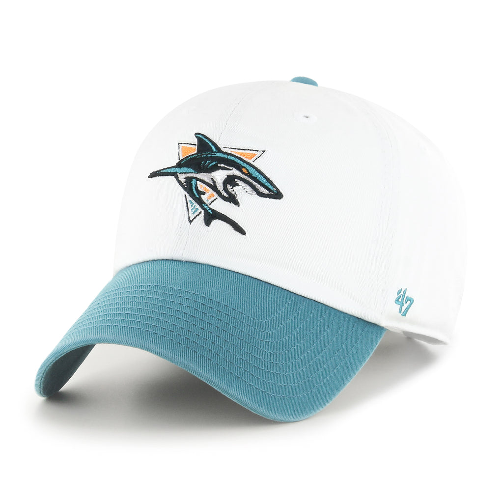 SAN JOSE SHARKS TWO TONE '47 CLEAN UP