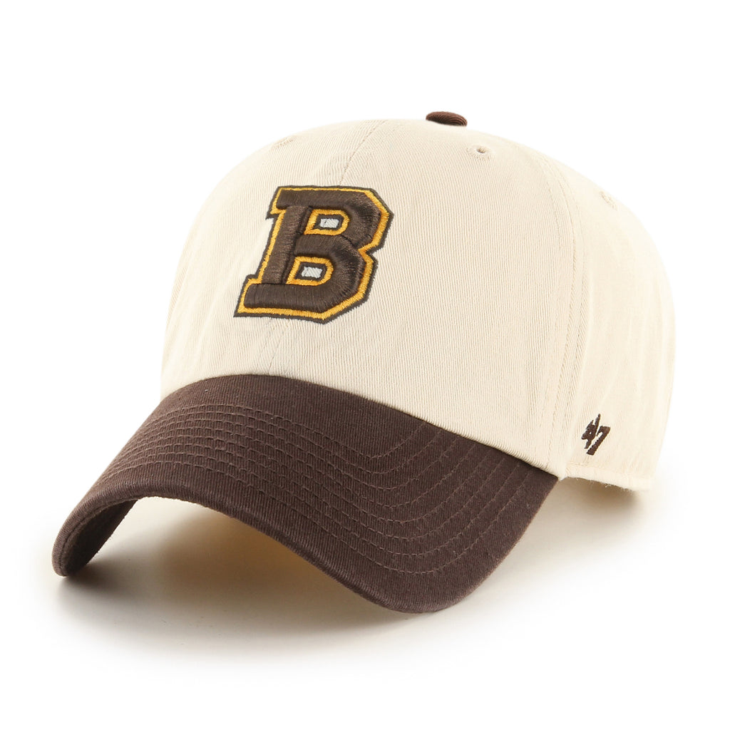 BOSTON BRUINS VINTAGE TWO TONE '47 CLEAN UP