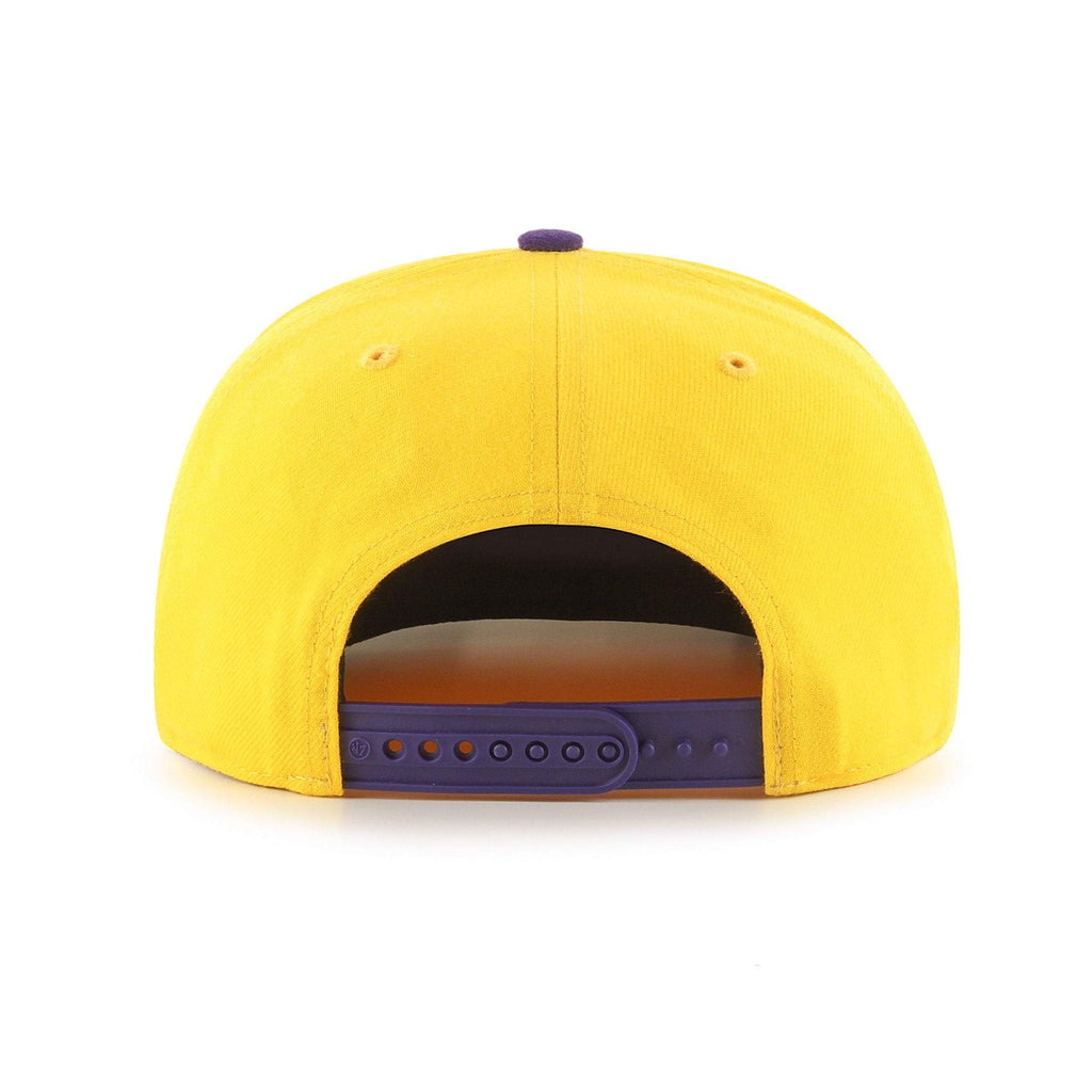 LOS ANGELES LAKERS NO SHOT TWO TONE '47 CAPTAIN