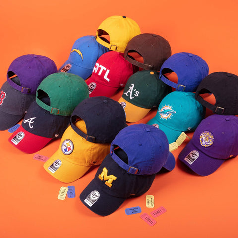 7fa77aeaeee147 Yellow | '47 – Sports lifestyle brand | Licensed NFL, MLB, NBA, NHL, MLS,  USSF & over 900 colleges. Hats and apparel.