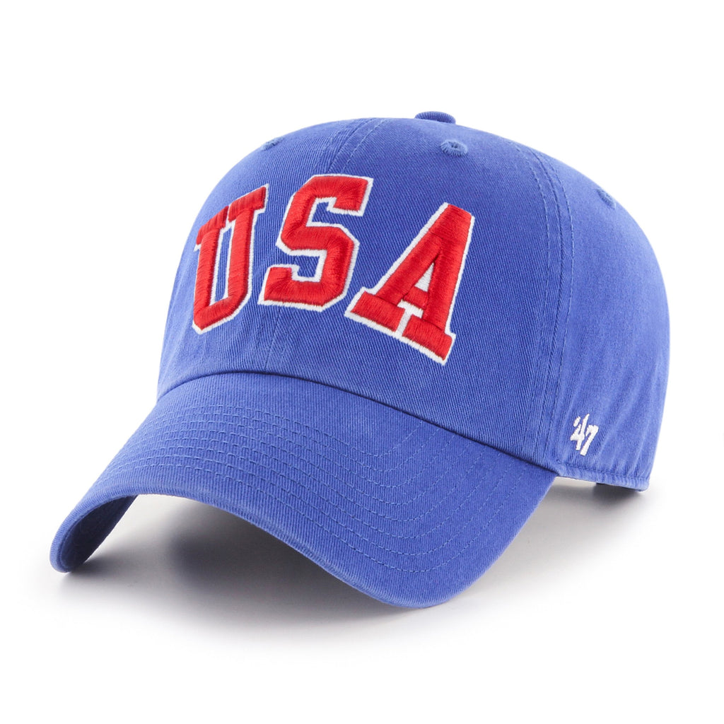 USA HOCKEY MIRACLE ON ICE TRIPLE HIT '47 CLEAN UP