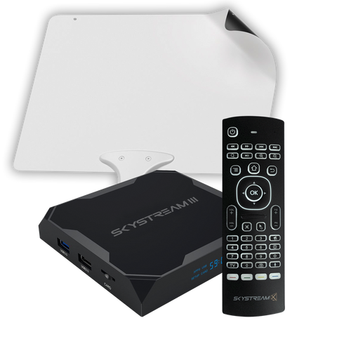 SkyStream III Android TV Box Cable Cutting Package