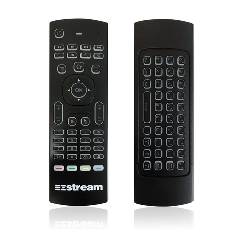 EZ Stream Backlit Air Mouse Remote