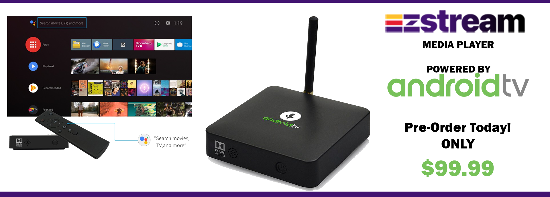All New Element Ti5 Android TV Box