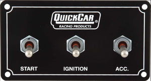 Quickcar Weatherproof Ignition Control Panels With Single Accessory Switch