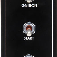 Waterproof Ignition Control Panels With 1 Accessory Switch