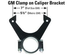 Brake Caliper Brackets - Clamp On and Bolts