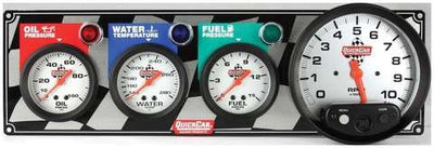 Quickcar 3 Gauge Panel with 5