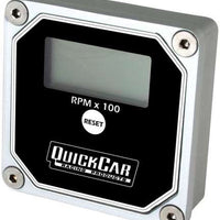 QuickTach LCD Recall Tachometer (checker flag or black)