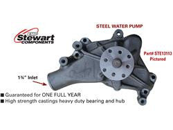 Stewart Stage 1 Steel Water Pump Short