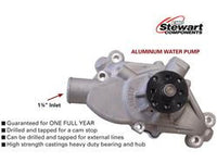 Stewart Stage 3 Water Pump Short 3/4 Shaft