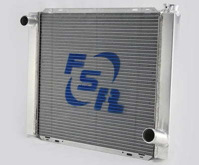 FSR Racing Radiators Chevy Single Pass