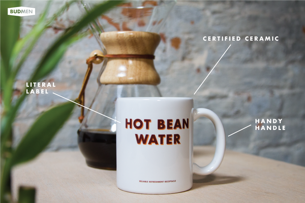 Diagram of Hot Bean Water Mug