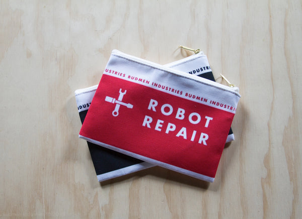 Robot Repair Zip Bag