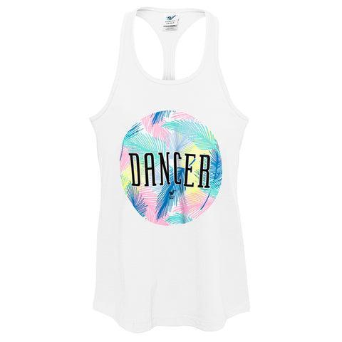 Summer Tropics Dancer Racer Tank