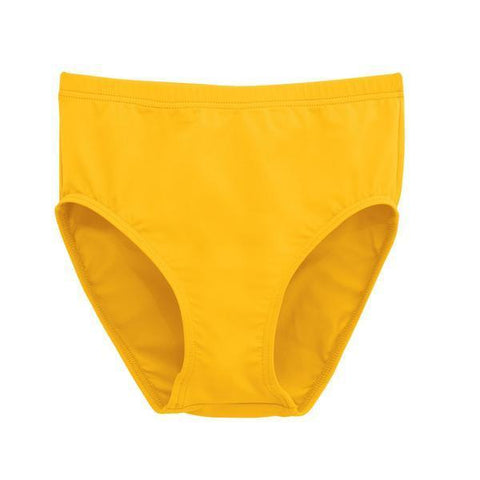 Bright Gold Spirit Stretch Cheer Brief