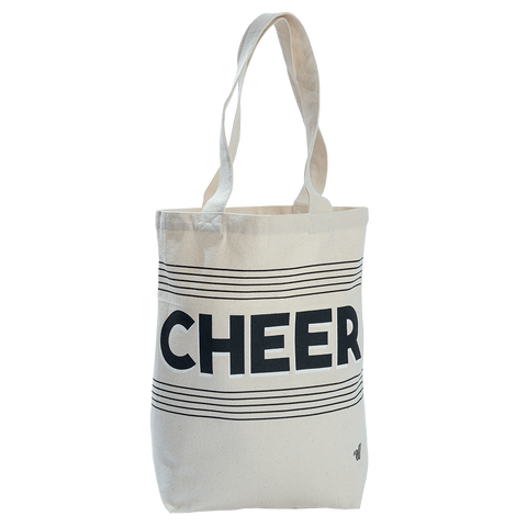 Cheer Canvas Tote