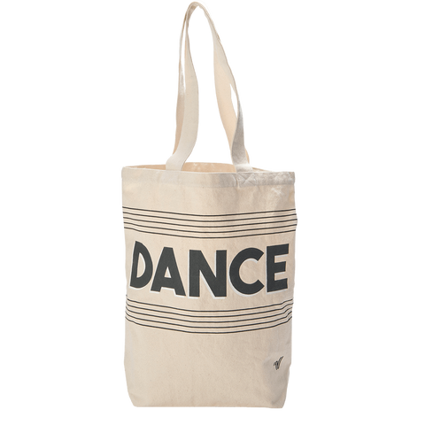 Dance Canvas Tote
