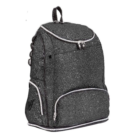 Glitter Game Day Backpack Charcoal Grey VSBP18