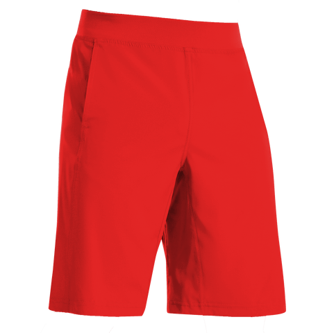 Guy's Tech Weave Shorts YS / Scarlet YGSHORT2Q
