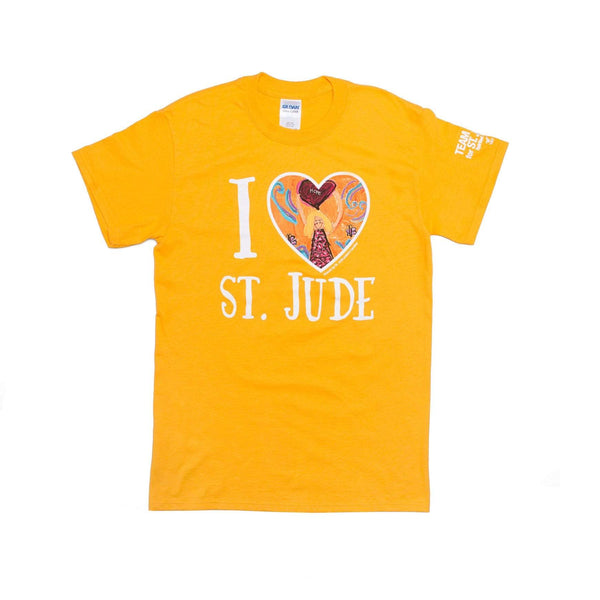 Show Your Gold - I Love St. Jude T-Shirt