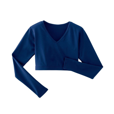 Spirit Stretch V-Neck Midriff YXS / Navy Blue SSMV15