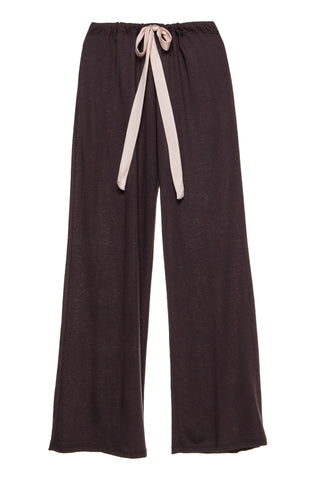 Heather Wide Leg Pant