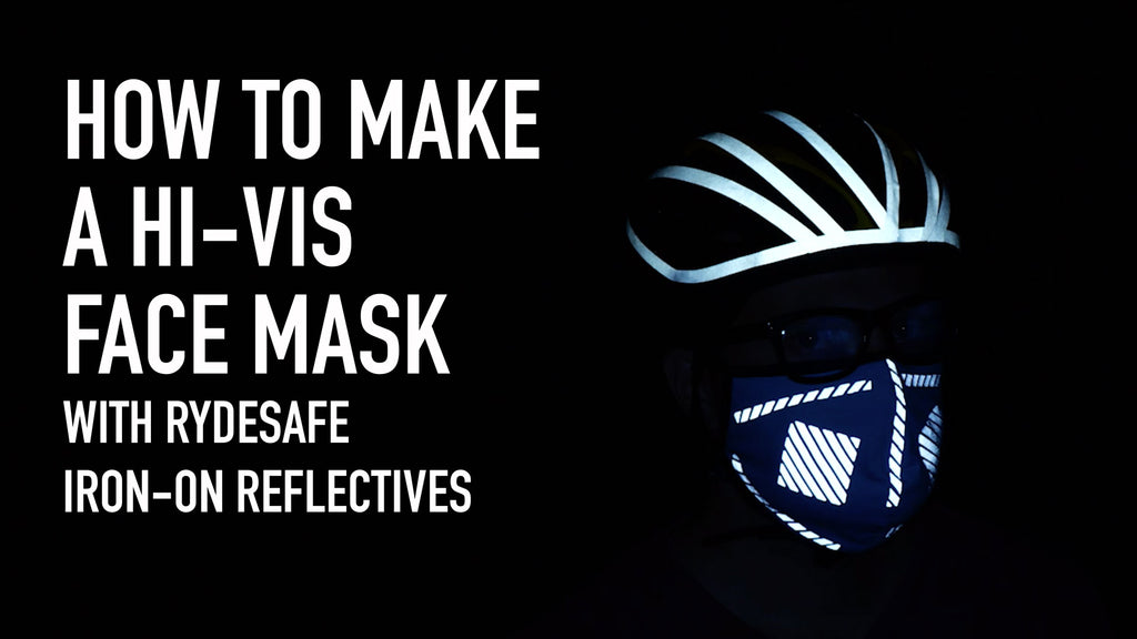 Hi-Vis Reflective Mask How-To: RydeSafe Iron-On Reflectives Kit (Made With 3M Scotchlite)