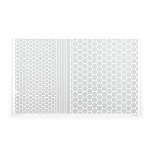 RydeSafe Reflective Stickers | Hexagon+ Kit - XL